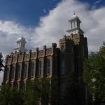 Mormon Temple in Logan Utah