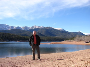 Sometimes it isn't all about golf - taking time to visit Pikes Peak