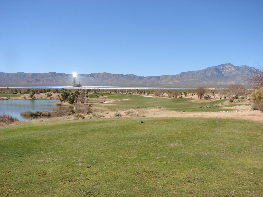 Primm Valley 1st hole