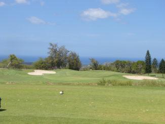 Photo of the 6th hole at Waikoloa Village Golf Club