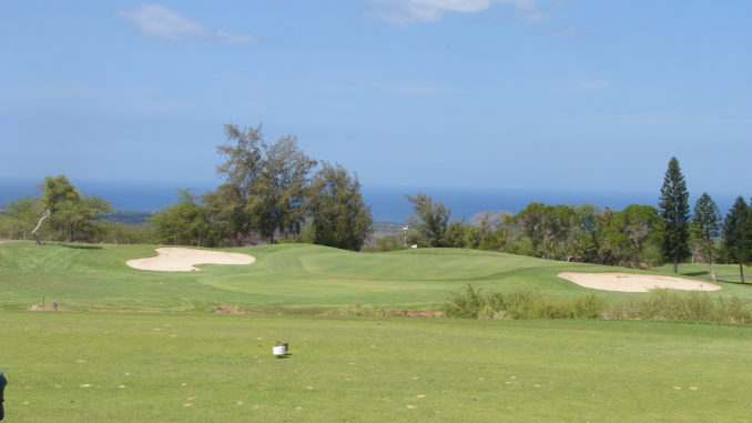 Photo of the 6th hole at Waikoloa Village Golf Club