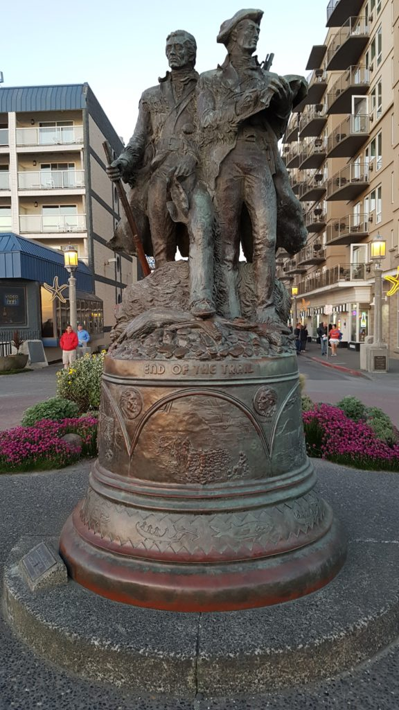 statue of Lewis and Clark