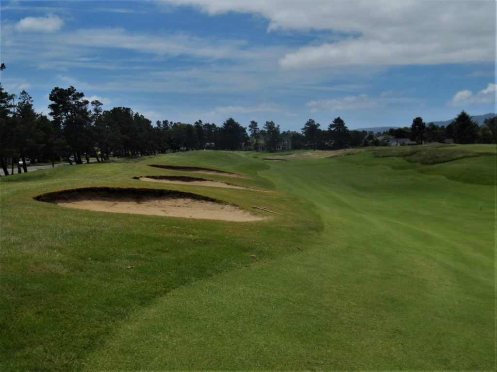 fairway bunkers
